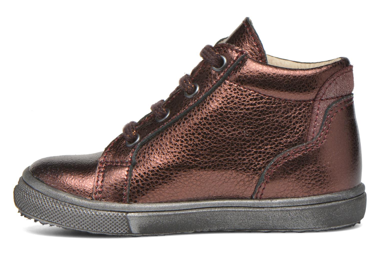 Chaussures à lacets Bopy Bobade Bordeaux vue face