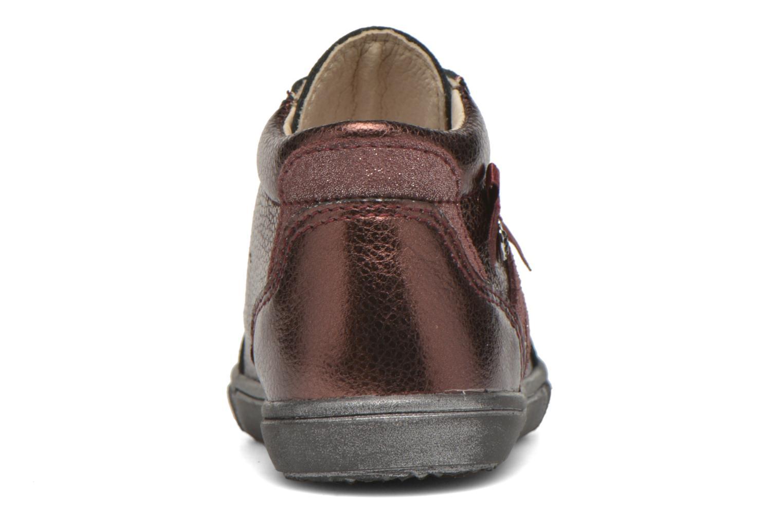 Chaussures à lacets Bopy Bobade Bordeaux vue droite