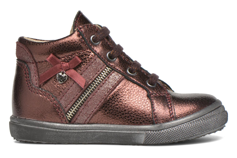 Chaussures à lacets Bopy Bobade Bordeaux vue derrière
