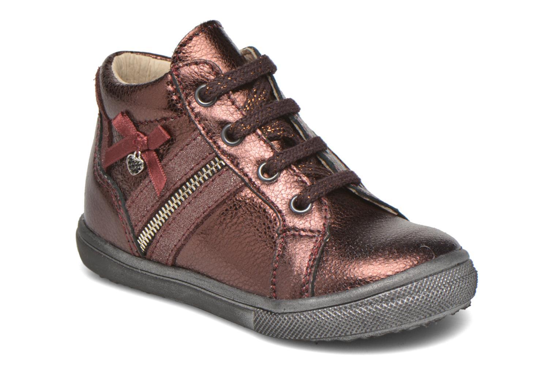 Chaussures à lacets Bopy Bobade Bordeaux vue détail/paire