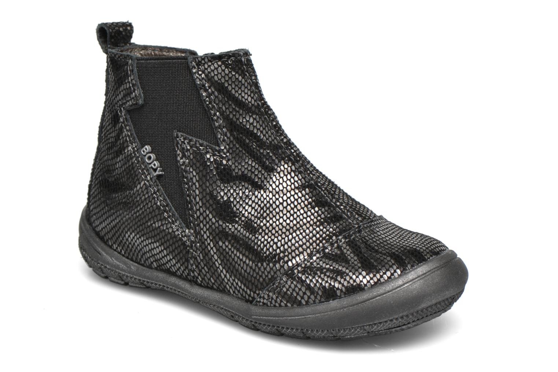 Ankle boots Bopy Bonomi Black detailed view/ Pair view