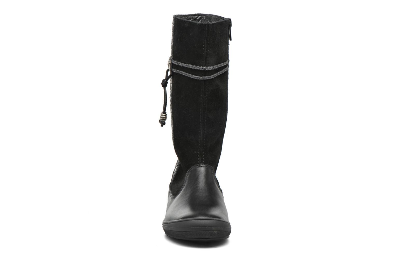 Bottes Bopy Sagata Noir vue portées chaussures