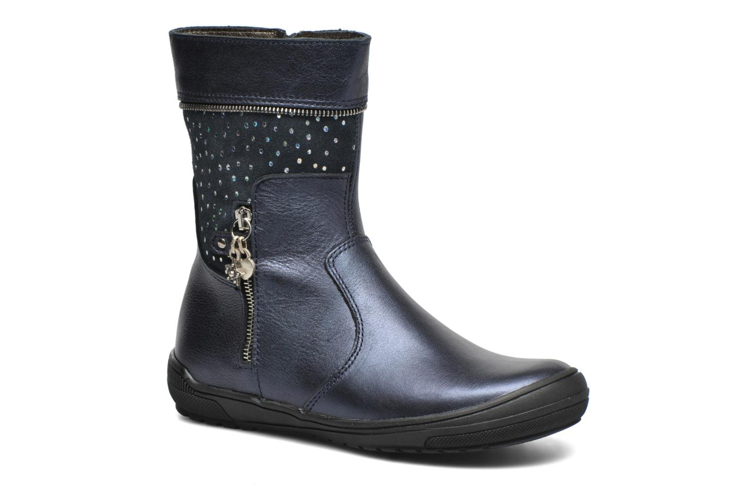 Boots & wellies Bopy Saraba Blue detailed view/ Pair view