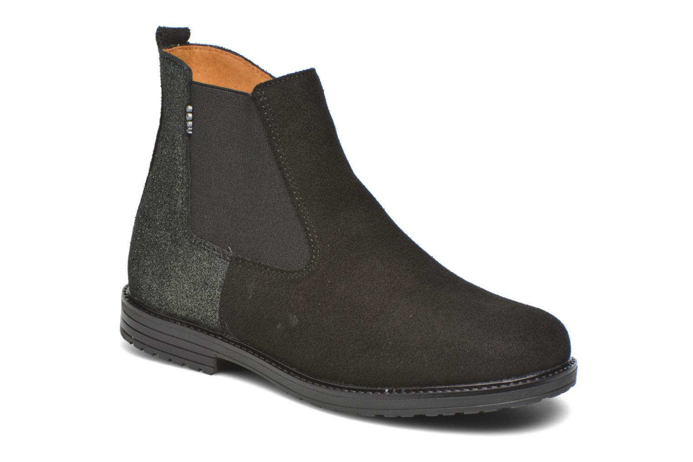 Bottines et boots Bopy Selfy Noir vue détail/paire