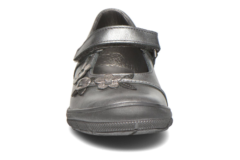 Ballerines Bopy Silado Gris vue portées chaussures