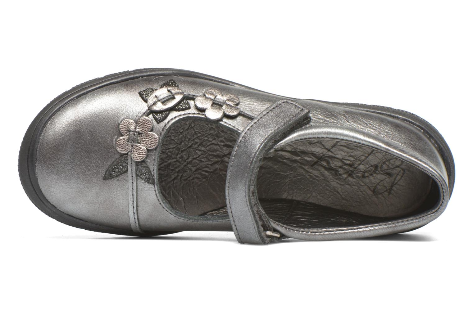 Ballet pumps Bopy Silado Grey view from the left