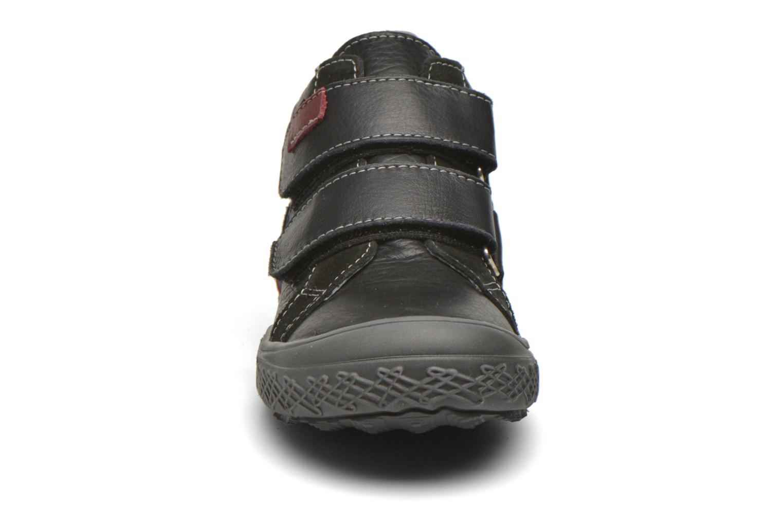 Chaussures à scratch Bopy Vaillant Noir vue portées chaussures