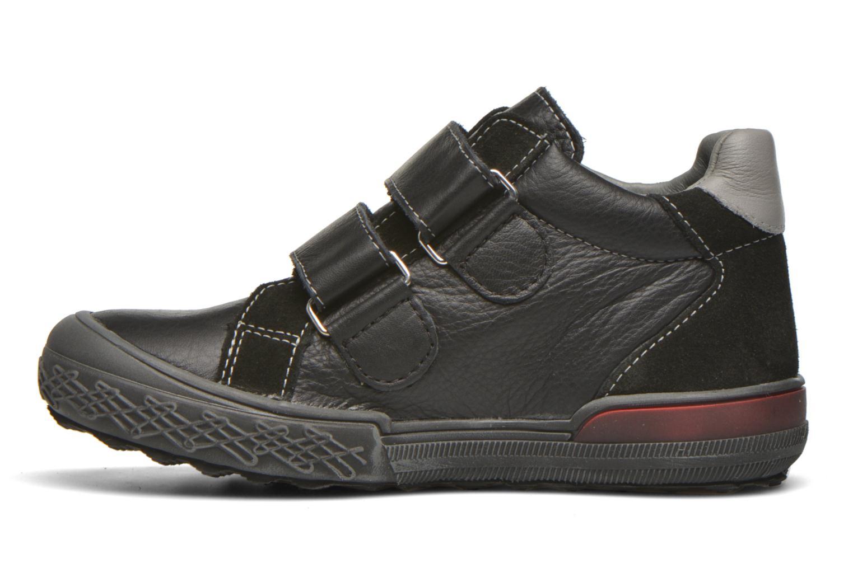 Chaussures à scratch Bopy Vaillant Noir vue face