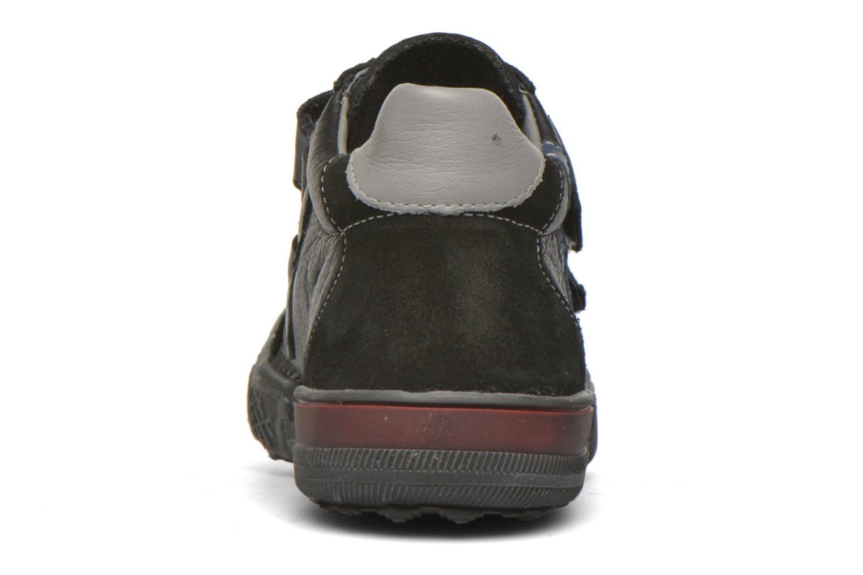 Chaussures à scratch Bopy Vaillant Noir vue droite