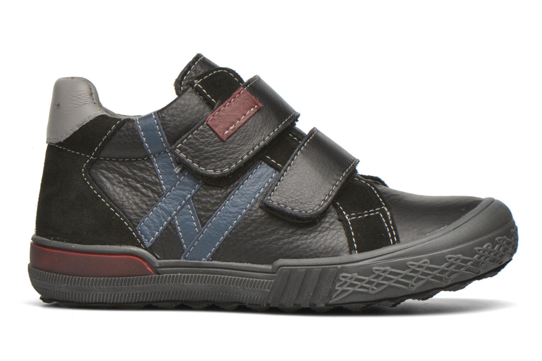 Chaussures à scratch Bopy Vaillant Noir vue derrière