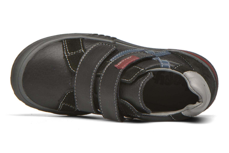 Chaussures à scratch Bopy Vaillant Noir vue gauche