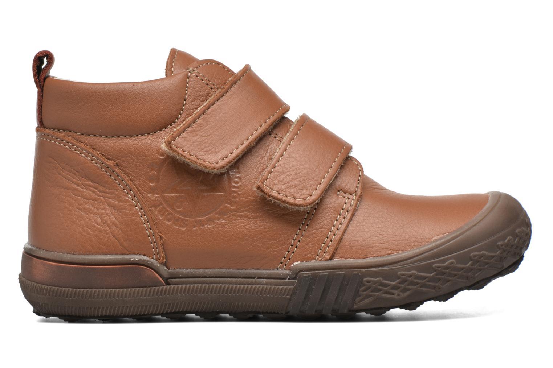 Zapatos con velcro Bopy Vayon Beige vistra trasera