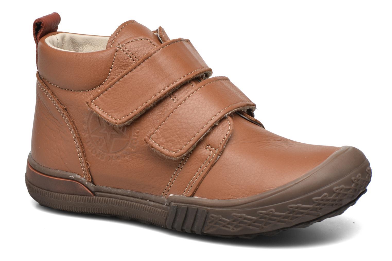 Zapatos con velcro Bopy Vayon Beige vista de detalle / par