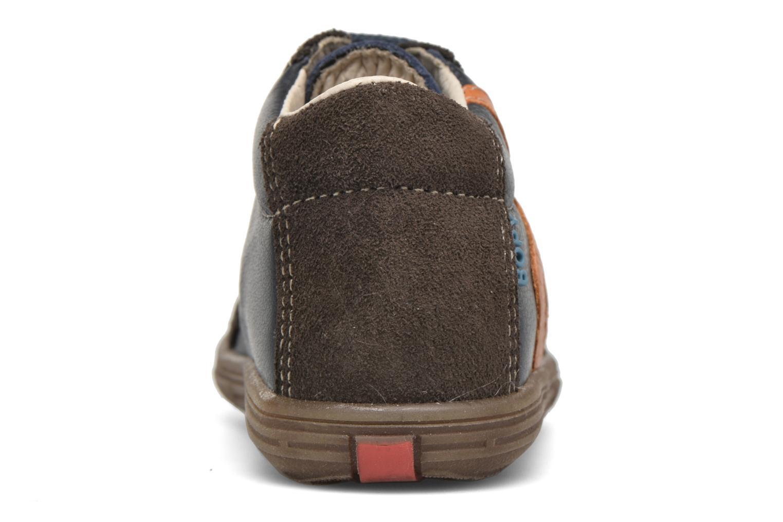 Stiefeletten & Boots Bopy Zabre blau ansicht von rechts