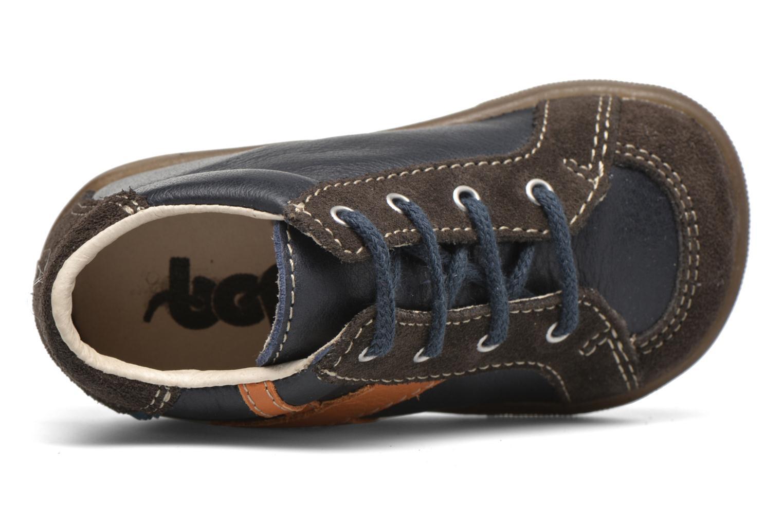 Stiefeletten & Boots Bopy Zabre blau ansicht von links