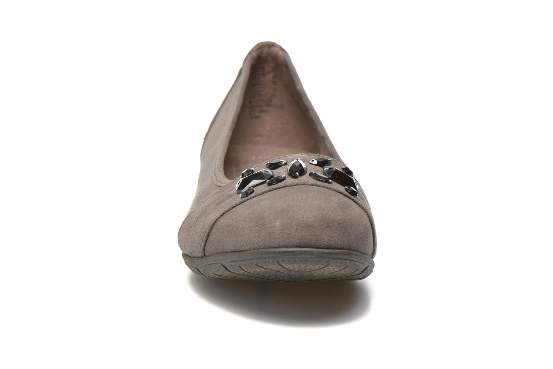 Ballerines Jana shoes Ammi Gris vue portées chaussures