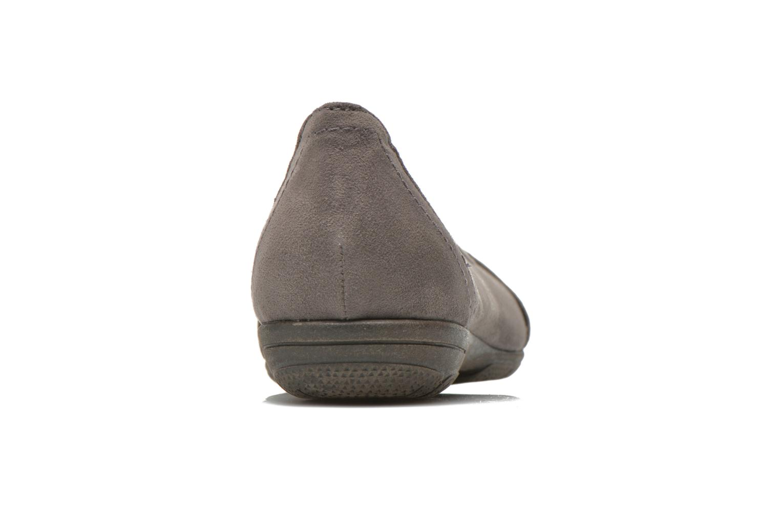 Ballet pumps Jana shoes Ammi Grey view from the right