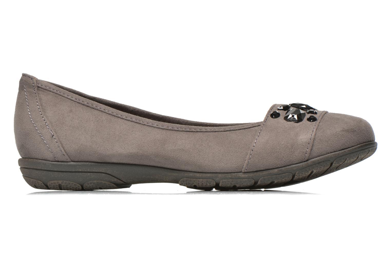 Ballerines Jana shoes Ammi Gris vue derrière