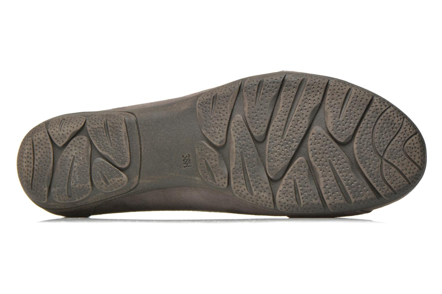 Ballet pumps Jana shoes Ammi Grey view from above