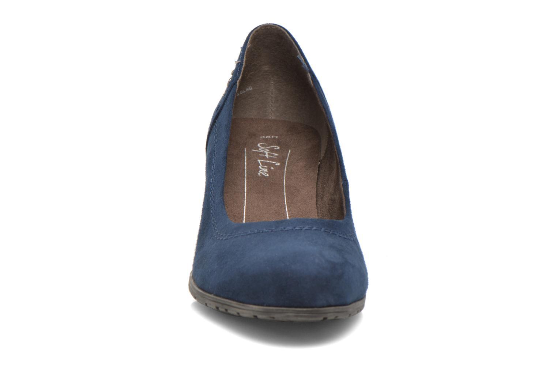 Pumps Jana shoes Jiveo 2 blau schuhe getragen