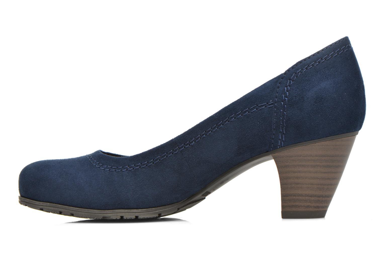 Pumps Jana shoes Jiveo 2 blau ansicht von vorne