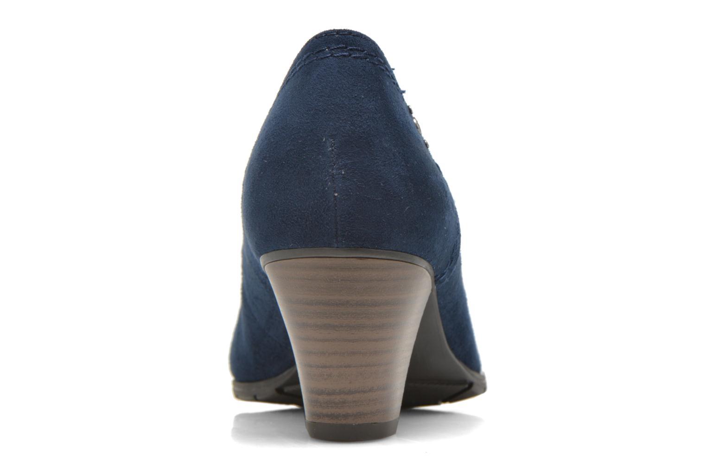 Zapatos de tacón Jana shoes Jiveo 2 Azul vista lateral derecha