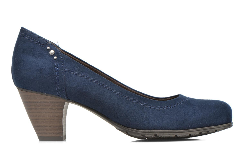 Pumps Jana shoes Jiveo 2 blau ansicht von hinten