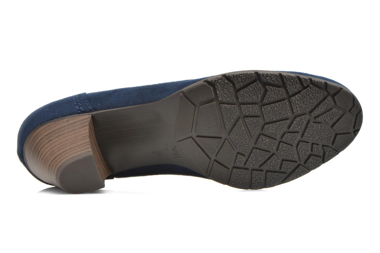 Escarpins Jana shoes Jiveo 2 Bleu vue haut