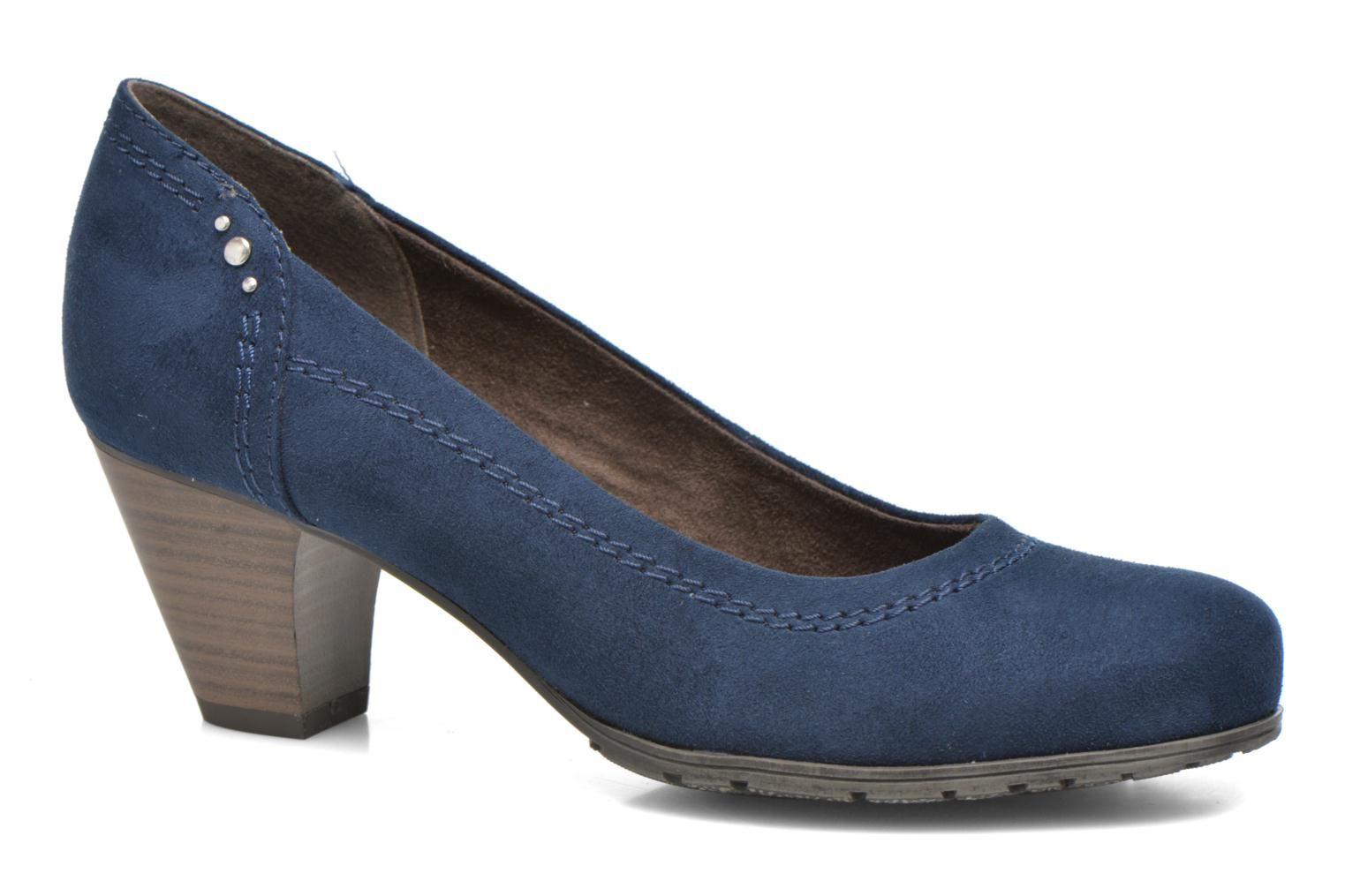 High heels Jana shoes Jiveo 2 Blue detailed view/ Pair view