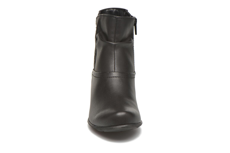 Bottines et boots Jana shoes Gentiane Noir vue portées chaussures