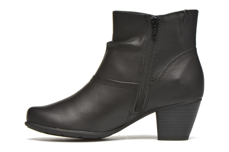 Bottines et boots Jana shoes Gentiane Noir vue face