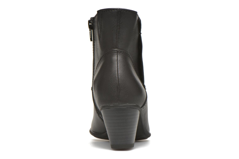 Bottines et boots Jana shoes Gentiane Noir vue droite