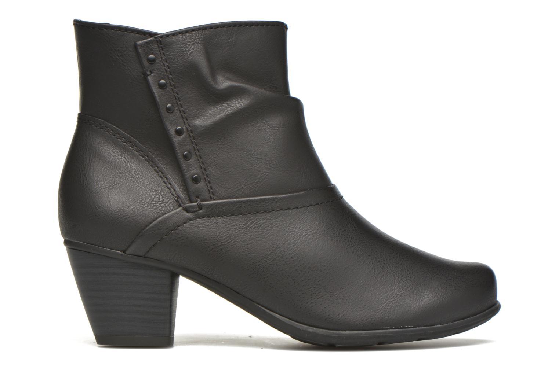 Bottines et boots Jana shoes Gentiane Noir vue derrière