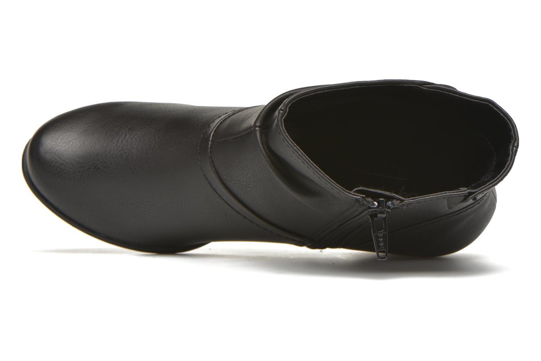 Bottines et boots Jana shoes Gentiane Noir vue gauche
