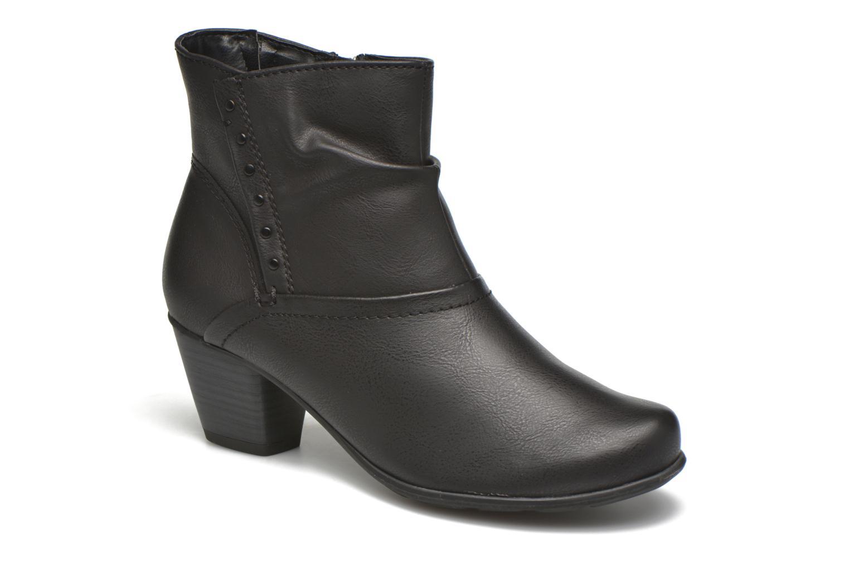 Bottines et boots Jana shoes Gentiane Noir vue détail/paire