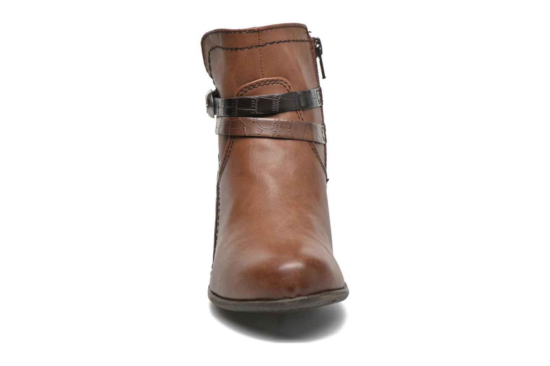 Bottines et boots Jana shoes Orchis Marron vue portées chaussures