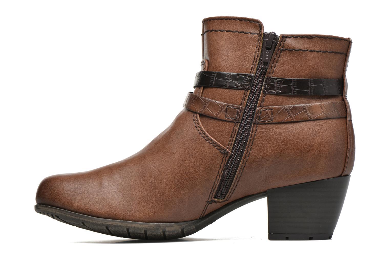 Bottines et boots Jana shoes Orchis Marron vue face