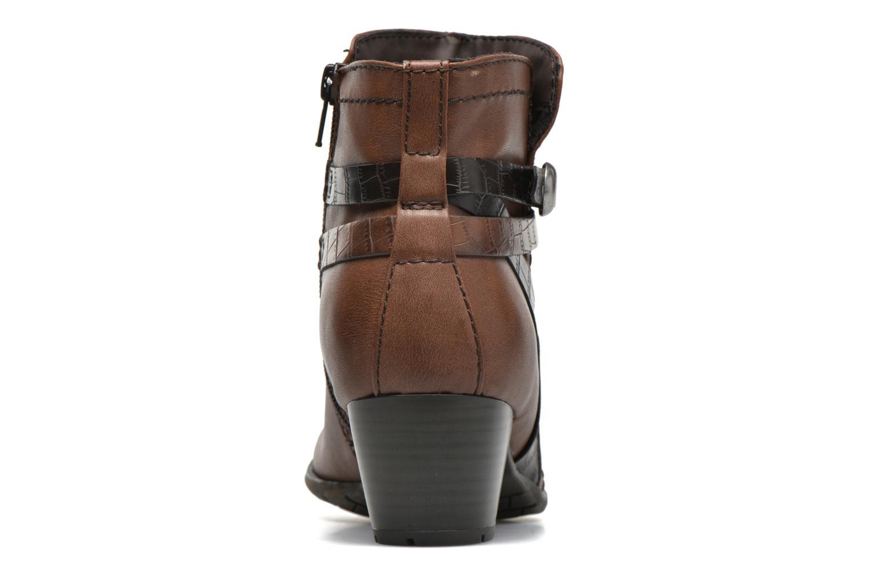 Bottines et boots Jana shoes Orchis Marron vue droite