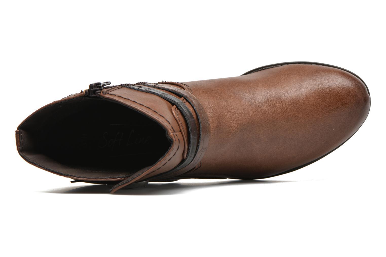 Bottines et boots Jana shoes Orchis Marron vue gauche