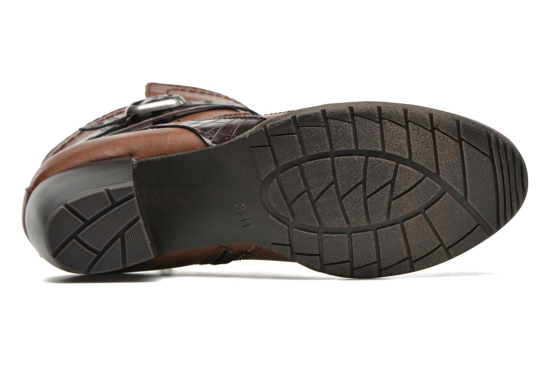 Bottines et boots Jana shoes Orchis Marron vue haut
