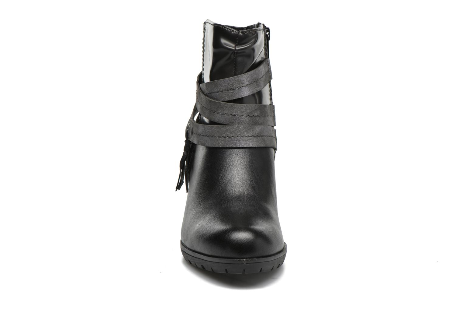 Ankle boots Jana shoes Silene Black model view