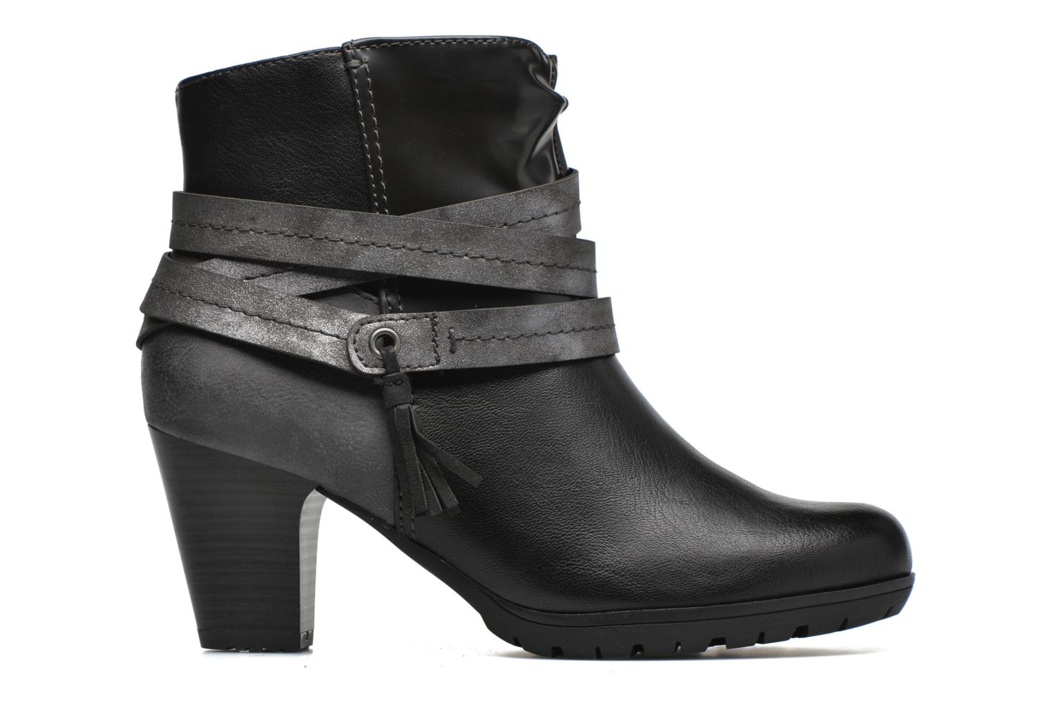 Ankle boots Jana shoes Silene Black back view