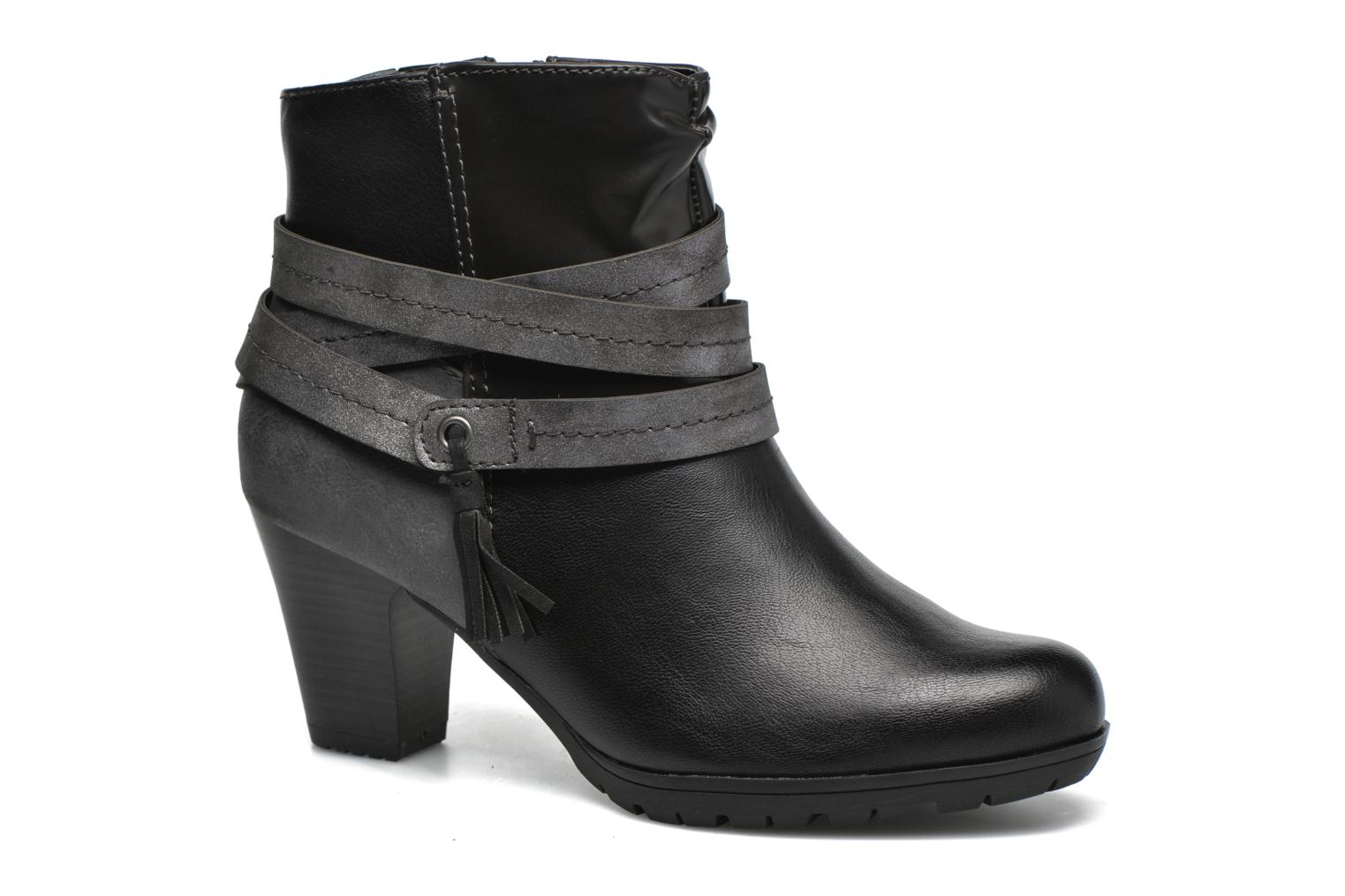 Ankle boots Jana shoes Silene Black detailed view/ Pair view