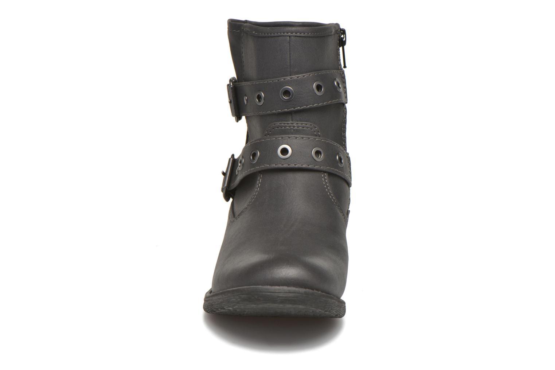 Bottines et boots Jana shoes Monarde Noir vue portées chaussures