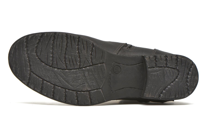 Bottines et boots Jana shoes Monarde Noir vue haut
