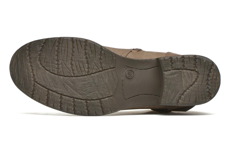 Stivaletti e tronchetti Jana shoes Monarde Beige immagine dall'alto