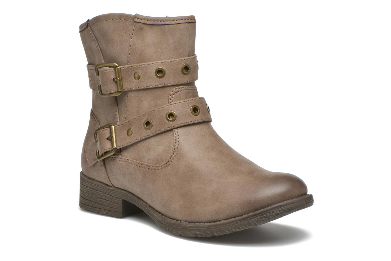 Bottines et boots Jana shoes Monarde Beige vue détail/paire