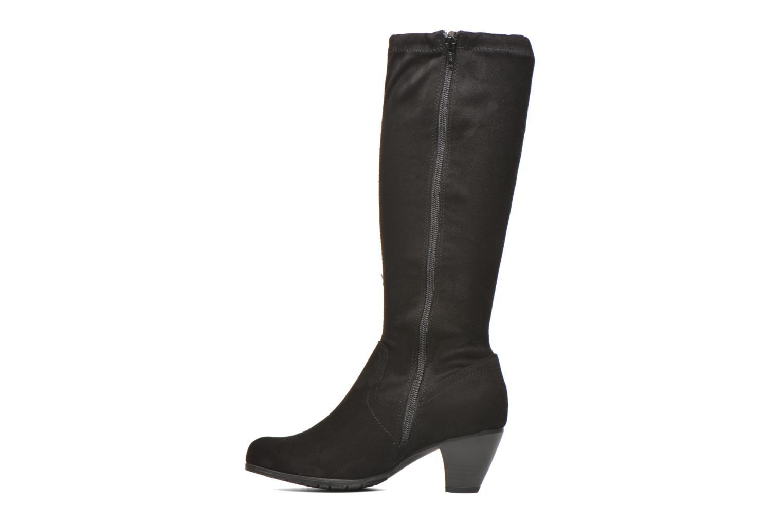 Bottes Jana shoes Lulu 2 Noir vue face