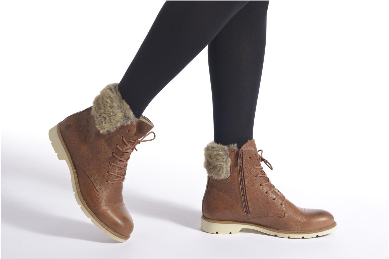 Stiefeletten & Boots Bullboxer Fulki braun ansicht von unten / tasche getragen