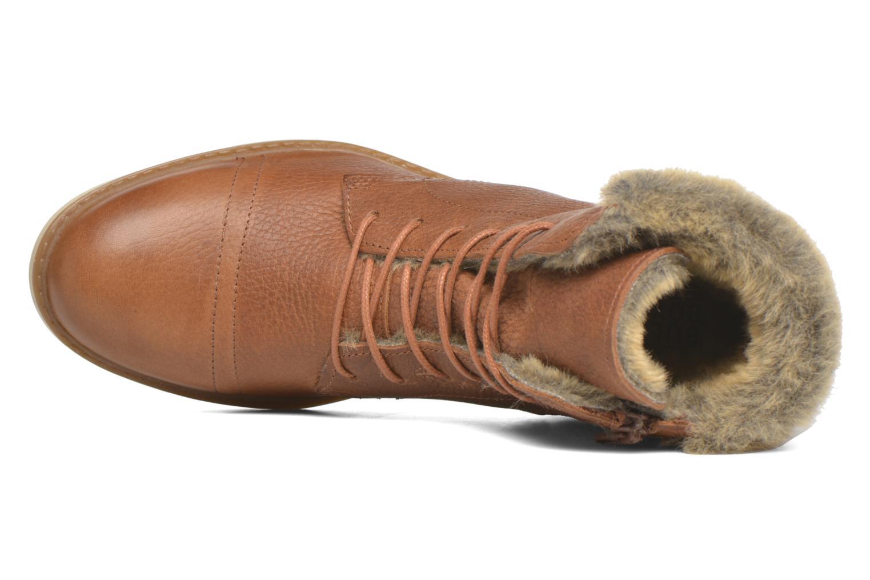 Bottines et boots Bullboxer Fulki Marron vue gauche